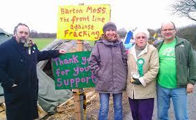 Protests at Barton Moss, 2014