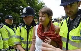 Green MP Caroline Lucas, arrested at Balcombe