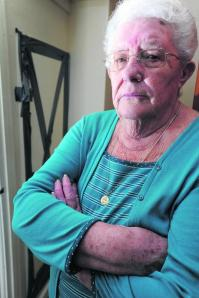 Maureen Cox, three months with no heating and asbestos