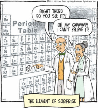 chem element of surprise