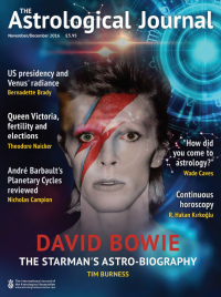 Bowie Astrological Assocaition article